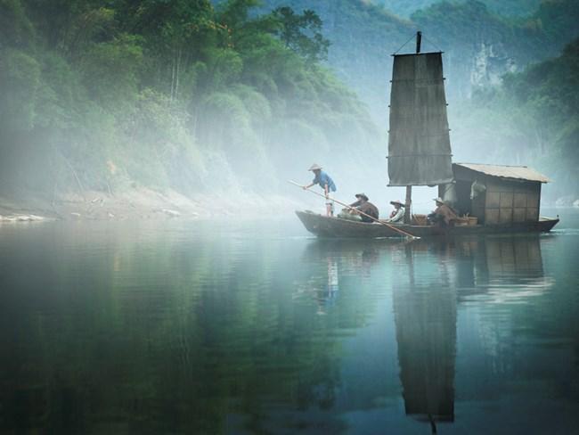 Yishan Island, Voyage (Ten Thousand Waves) by Isaac Julien contemporary artwork