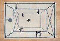 La rencontre by Diego Giacometti contemporary artwork sculpture, textile