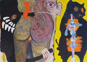 Tinder by David Lehmann contemporary artwork painting