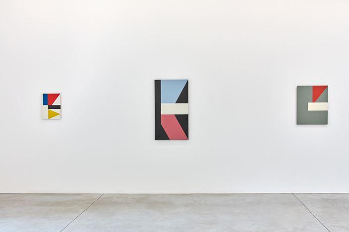 Exhibition view: Mario De Brabandere, Zonder Titel (Voor Constantin), Kristof De Clercq gallery, Ghent (29 September–3 November 2019). Courtesy Kristof De Clercq gallery.