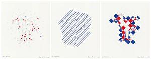 """# 476 """"mein beitra"""" / """"g zum bindu"""" / """"ngsproblem"""" by Tomas Schmit contemporary artwork"""