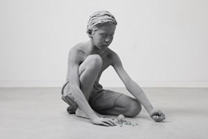 Timo (Marbles) by Hans Op de Beeck contemporary artwork