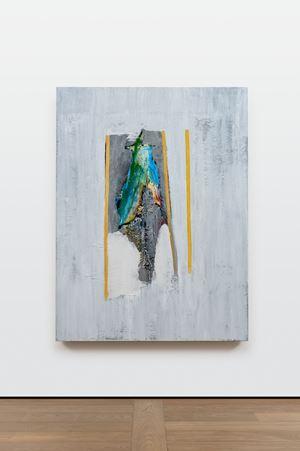 Parrot (Orange Stripes) by Erik Lindman contemporary artwork