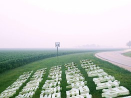 One Giant Tofu Block, One Hundred Names: Chen Qiulin Launches Her Career-survey Exhibition