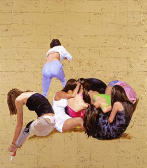Girl's Party 《女会》 by Yu Hong contemporary artwork