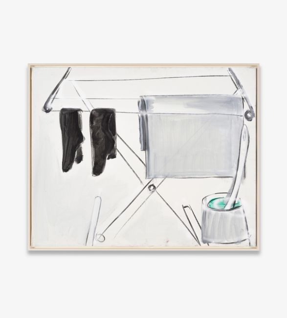 schwarze Socken by Karl Horst Hödicke contemporary artwork
