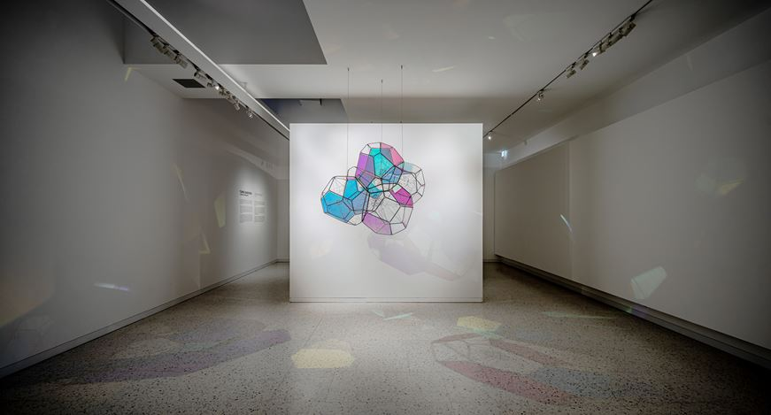 Exhibition view: Tomas Saraceno, Cosmic Resonance, Winsing Art Place, Taipei (25 July–18 October 2020). Courtesy Winsing Art Place.