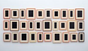 Collection of Thirty Plaster Surrogates by Allan McCollum contemporary artwork