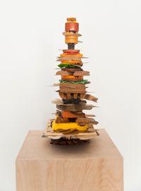 Muddy Stream from a Mug (Sandwich) by Teppei Kaneuji contemporary artwork mixed media