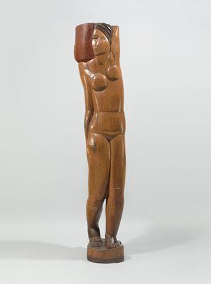 Jeune fille à la cruche by Ossip Zadkine contemporary artwork sculpture