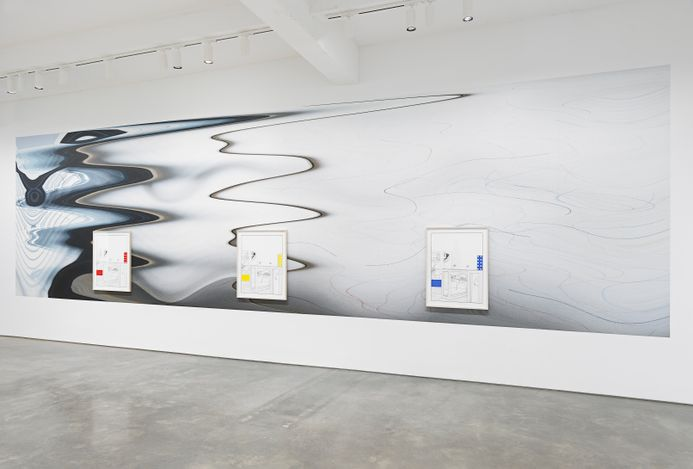 Exhibition view: Louise Lawler, One Show on Top of the Other,Metro Pictures, New York (4 May–5 June 2021). Courtesy of the artist and Metro Pictures, New York.