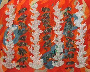 비추어 드러내다 by Woo Min Jung contemporary artwork