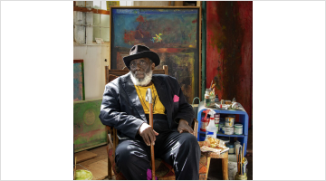 Contemporary art exhibition, Frank Bowling, Frank Bowling – London / New York at Hauser & Wirth, 22nd Street, New York