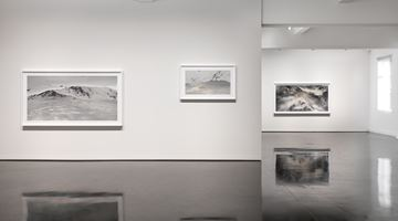 Contemporary art exhibition, Rosemary Laing, skyground at Tolarno Galleries, Melbourne