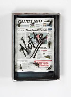 Sans titre (Notte) by Jannis Kounellis contemporary artwork