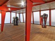 'Chamberlain/Prouvé' at Gagosian Gallery