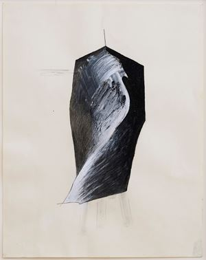 Figure V (Tripod series) by Jay Defeo contemporary artwork