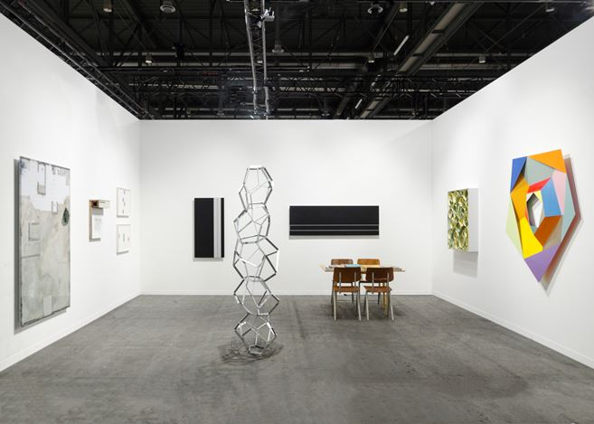 Exhibition view: Bartha Contemporary, Booth A33, artgenève 2018 (1 February–4 February 2018). Courtesy Bartha Contemporary, London.
