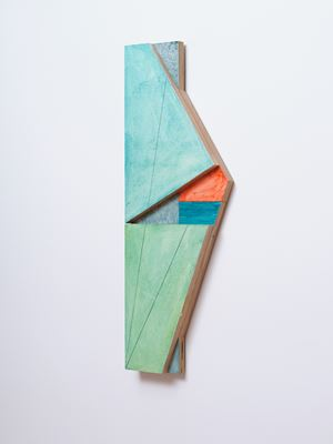 Window (Green & Orange) by James Ross contemporary artwork