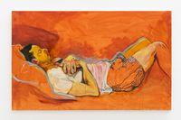 The Nap by Maria Klabin contemporary artwork painting