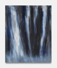 Kleine Suite: aufsteigend stürzend II by Raimund Girke contemporary artwork painting