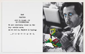Scene ( ) / Take ( ) : We are extremely close by John Baldessari contemporary artwork