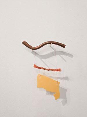 Tres elementos (Precarios) by Cecilia Vicuña contemporary artwork