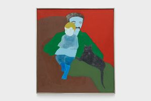 Father + Son by March Avery contemporary artwork painting, works on paper
