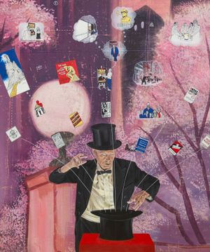 Magical Thinking by Jim Shaw contemporary artwork