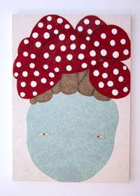 Lucky Mushrooms by Nobuko Watabiki contemporary artwork painting, works on paper, drawing