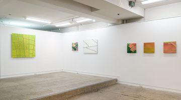 Contemporary art exhibition, Elizabeth Thomson, Cubist Encounters at Page Galleries, Wellington, New Zealand