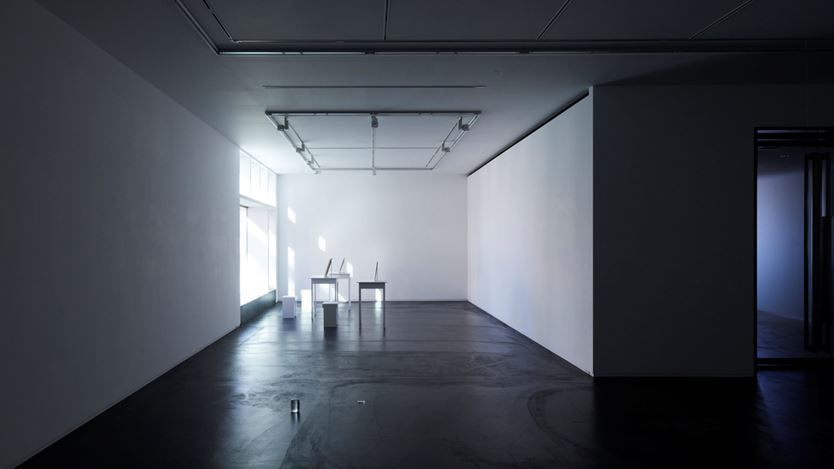 Exhibition view: Rei Naito, Taka Ishii Gallery, Tokyo (27 November–26 December 2020). Courtesy Taka Ishii Gallery. Photo: Kenji Takahashi.