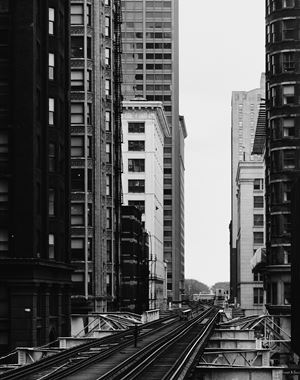 Van Buren Street, Chicago 1990 by Thomas Struth contemporary artwork
