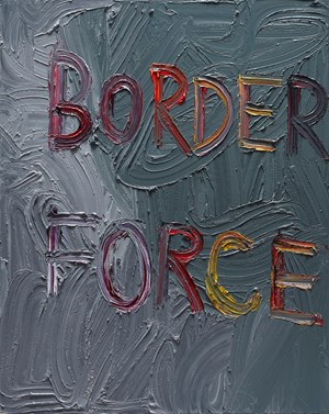Border force by Ben Quilty contemporary artwork