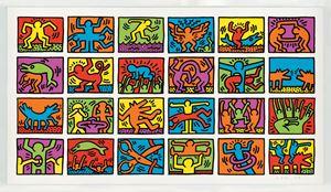 Retrospect by Keith Haring contemporary artwork
