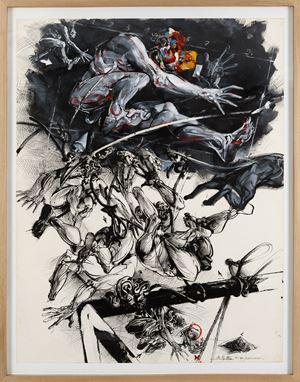 Cri Fig. XVII/1 by Vladimir Veličković contemporary artwork
