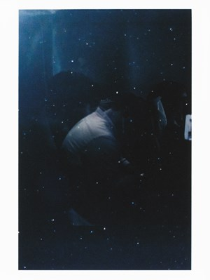Untitled (figure, glass, stars) by Sam Shmith contemporary artwork