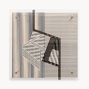 Untitled (Pour Maguy et Moamer) by Jesús Rafael Soto contemporary artwork