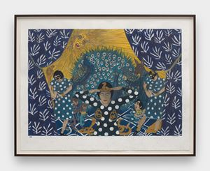 The sun arises in the east by Marcel Dzama contemporary artwork