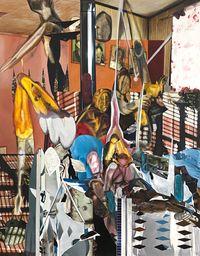 Family Affair by Rodel Tapaya contemporary artwork painting