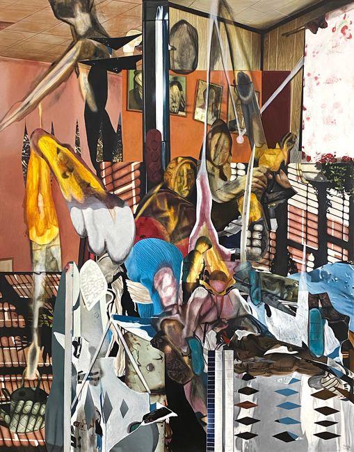 Family Affair by Rodel Tapaya contemporary artwork