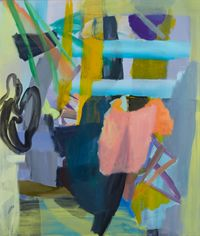 Tethering by Catherine Clayton-Smith contemporary artwork painting