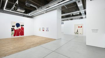 Contemporary art exhibition, Susumu Kamijo, Beyond The Hills at MAKI, Tennoz, Tokyo