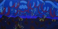 WALANG MAGAWA SA LANGIT NA GALIT by Yeo Kaa contemporary artwork painting, works on paper
