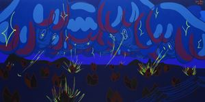 WALANG MAGAWA SA LANGIT NA GALIT by Yeo Kaa contemporary artwork