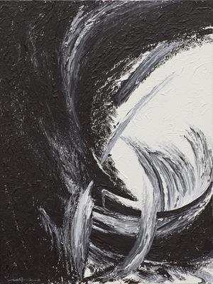 L'eau avance en suivant la vague by Ma Desheng contemporary artwork