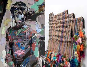 """ArkadaÎ Z. Özger """"yalnızlık her sabah öldürüyor ben!"""" by Eşref Yıldırım contemporary artwork"""