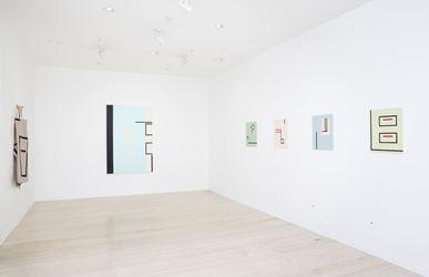 Exhibition view: Sarah crowEST, WERKSATZ TAEUBER, Gallery 9 Sydney (12 July–5 August 2017). Courtesy Gallery 9. Photo: Christian Capurro.