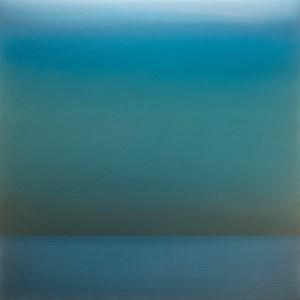 Kasumi December Green Blue by Miya Ando contemporary artwork