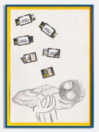 Leider Hatten Sie Diesmal Kein Gluck! (NoLuck this time) by Simon Fujiwara contemporary artwork works on paper, drawing
